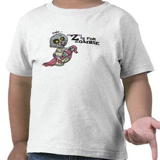 """""""Z"""" está para el zombi con la camiseta combinada ("""