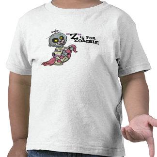 """""""Z"""" está para el zombi con la camiseta combinada"""