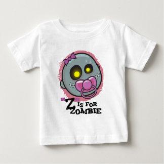 """""""Z"""" está para el zombi con la camiseta del niño de"""