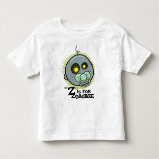 """""""Z"""" está para el zombi con los T-S del niño del T Shirt"""