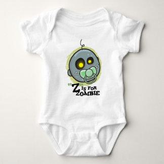 """""""Z"""" está para el zombi (los bebés) Playeras"""