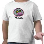 """""""Z"""" está para la camiseta del niño del zombi (chic"""