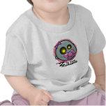 """Z"" está para la camiseta infantil del zombi (chic"