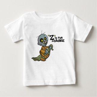 """Z"" está para la camiseta infantil del zombi Playeras"