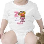 Z está para Zoe Trajes De Bebé