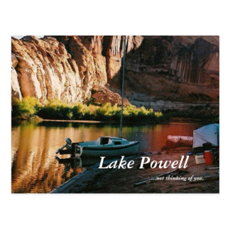 Z-final pictures 013, Lake Powell, ...not think... Postcard