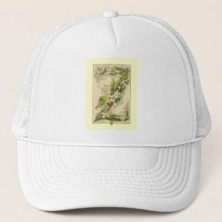 Z Flower Alphabet Catherine Klein Trucker Hat