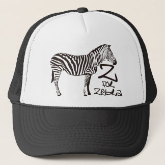 Z for Zebra Trucker Hat