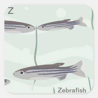 Z for zebrafish Sticker