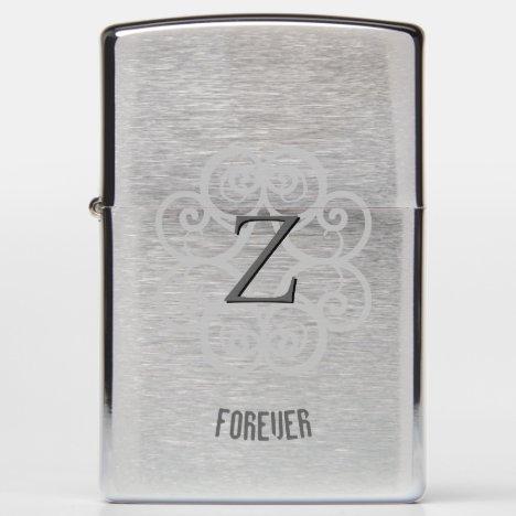 Z Forever Monogrammed Zippo Lighter