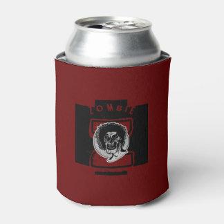 Z grande blanco y negro/rojo del zombi - enfriador de latas