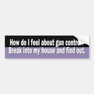 Z_gun_control Bumper Sticker