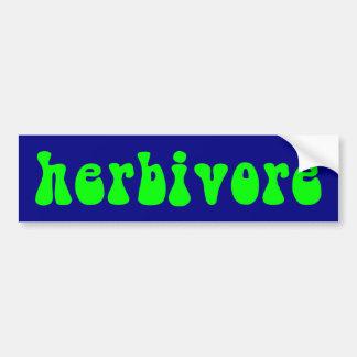 z_herbivore car bumper sticker
