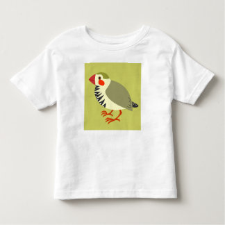Z is a zebrafinch toddler t-shirt