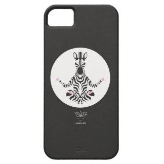 Z is for glamorous Zebra iPhone SE/5/5s Case