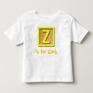 Z is for... toddler t-shirt