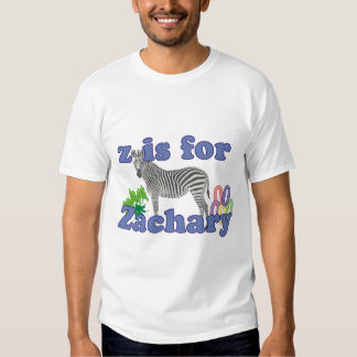 Z is for Zachary Tee Shirt