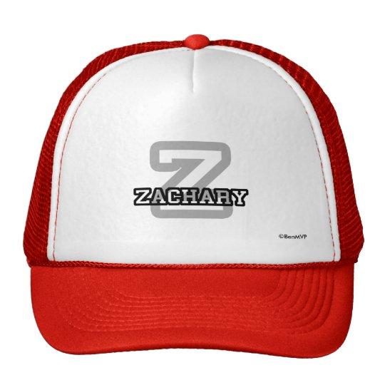 Z is for Zachary Trucker Hat
