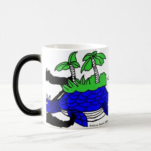 Z is for Zaratan 11 Oz Magic Heat Color-Changing Coffee Mug