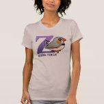 Z is for Zebra Finch T-Shirt