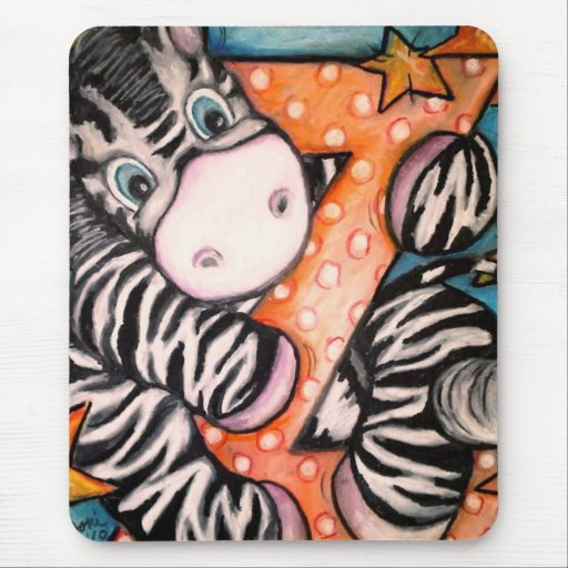 Z is for Zebra Mouse Pad