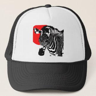 Z Is For Zebra: Red Trucker Hat