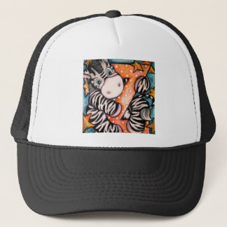 Z is for Zebra Trucker Hat