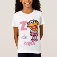 Z is for Zoe   Add Your Name T-Shirt