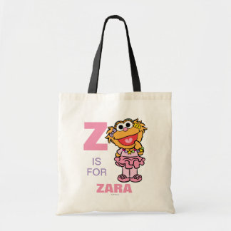 Z is for Zoe | Add Your Name Tote Bag