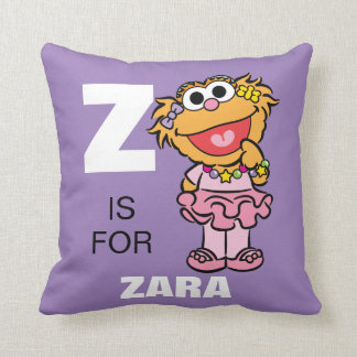 Z is for Zoe Pillow