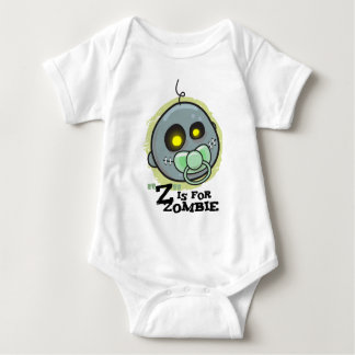 """Z"" is for Zombie (baby boys) T-shirt"