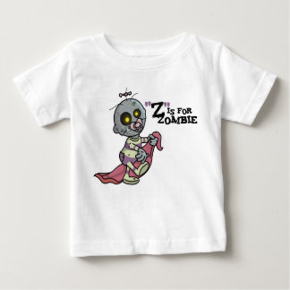 """""""Z"""" is for Zombie (girls) Infant T-Shirt"""