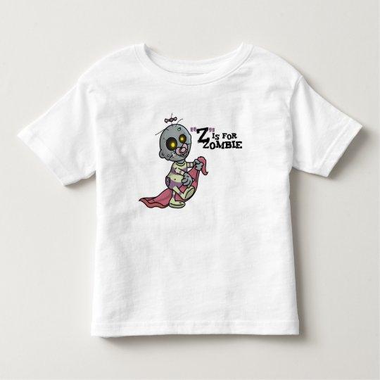 """Z"" is for Zombie w/ Blanket (Girls) Tshirt"