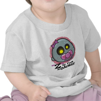 """""""Z"""" is for Zombie w/ Pacifier Girls Infant T-Shirt"""