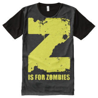 Z IS FOR ZOMBIES All-Over-Print T-Shirt