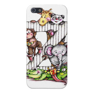 Z is for ZOO - Alphabet Art iPhone SE/5/5s Cover