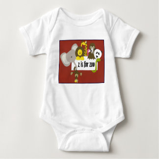 z is for zoo t shirt