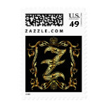 Z Monogram Classic Best viewed large see notes Stamp
