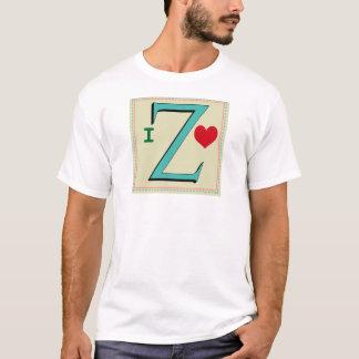 Z MONOGRAM LETTER T-Shirt