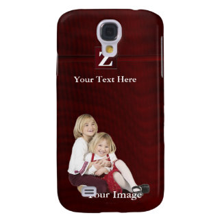 Z – Monogram Photo Template Add Your Image & Text Samsung S4 Case
