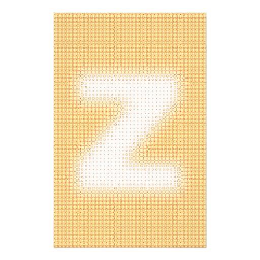 Z Monogram Stationery