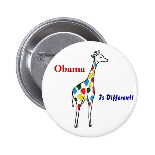 ¡Z Obama, es diferente! Botón