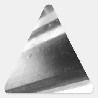 z pegatina triangular