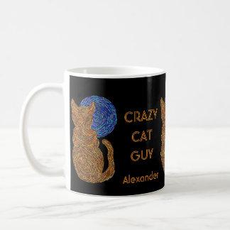 Z personaliza esta taza de café loca del individuo