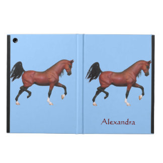 Z Personalize This Fun Trotting Horse Pony iPad Air Cover