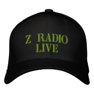 Z Radio Live army hat Embroidered Hat