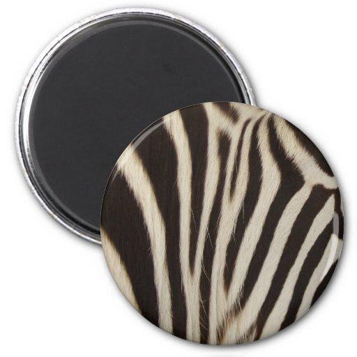 Z Stripes 2 Inch Round Magnet