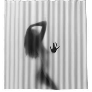 z Take a Shower With a Friend Shower Curtain
