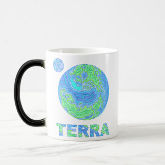 Z Terra Earth Art Coffee Mug Cup