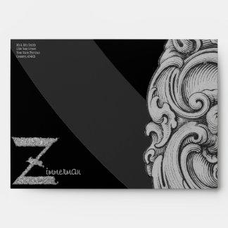 Z - The Falck Alphabet (Silvery) Envelope